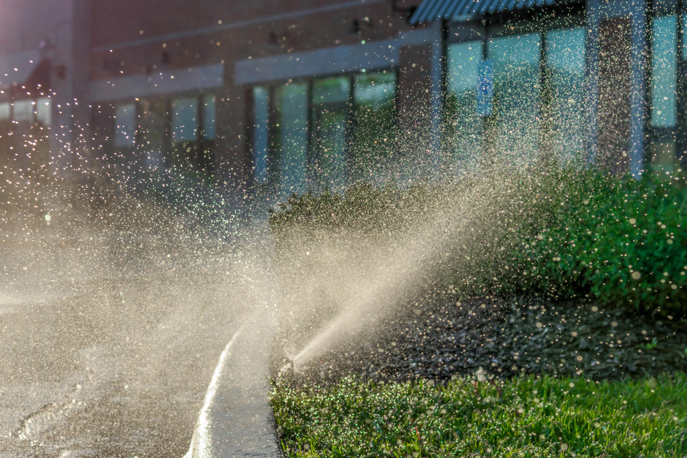 irrigation for commercial property